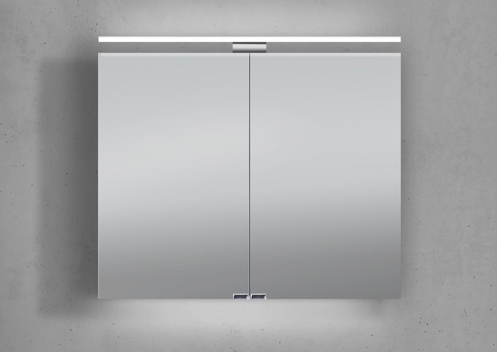 Relativ Spiegelschrank Mit Beleuchtung 80 Cm Breit MJ06 – Hitoiro GH53