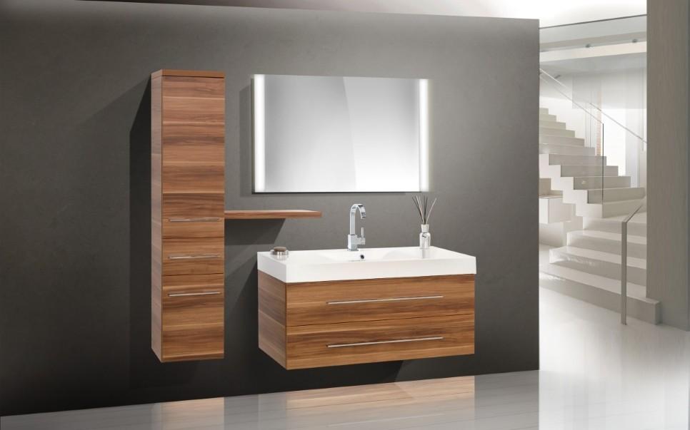 Badezimmermobel Waschbecken.Design Badmobel Set Waschbecken Waschtisch 120 Cm Designbaeder Com