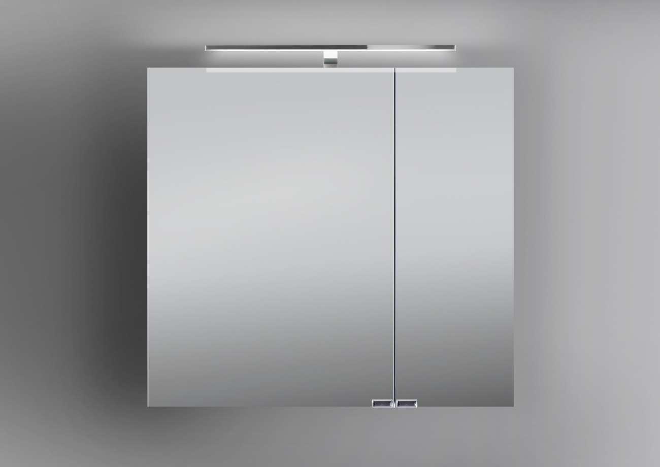 spiegelschrank bad 70 cm led beleuchtung doppelt verspiegelt, Badezimmer ideen