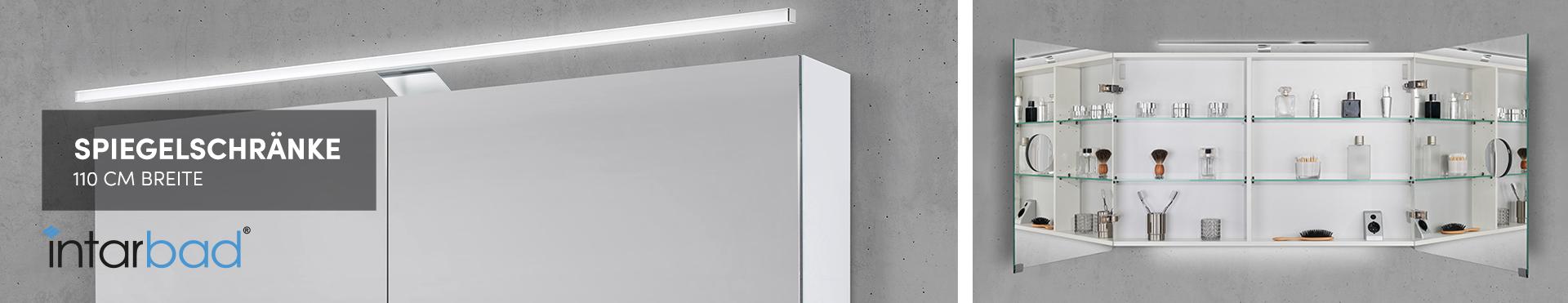 110 cm Spiegelschränke