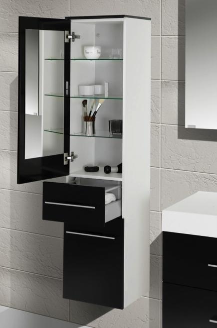 bad hochschrank seitenschrank h b t 156 6 35 32 5cm. Black Bedroom Furniture Sets. Home Design Ideas