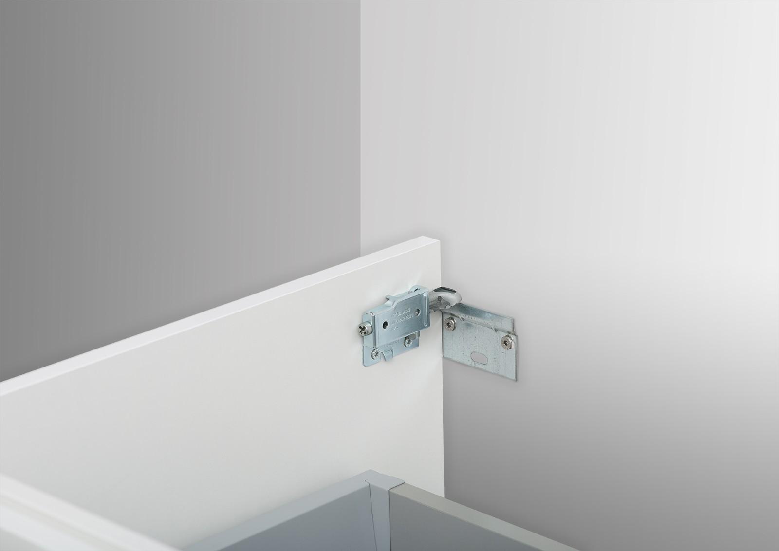 waschtisch unterschrank zu duravit vero 80 cm mit. Black Bedroom Furniture Sets. Home Design Ideas