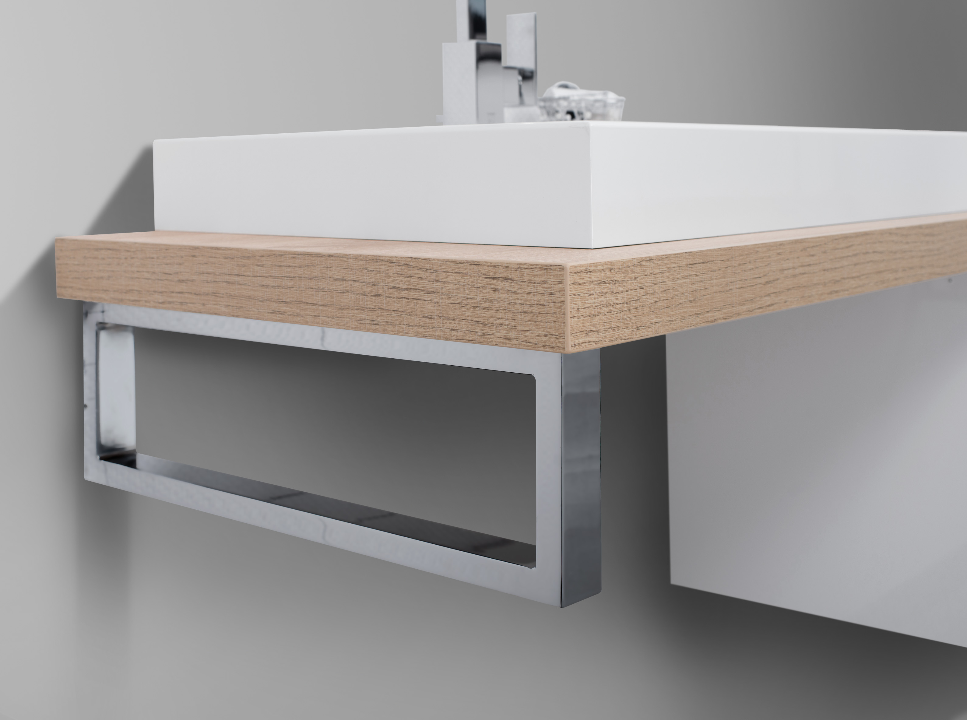 Badmöbel Set nach Maß Waschtischplatte, Waschtisch, Unterschrank, Konsole