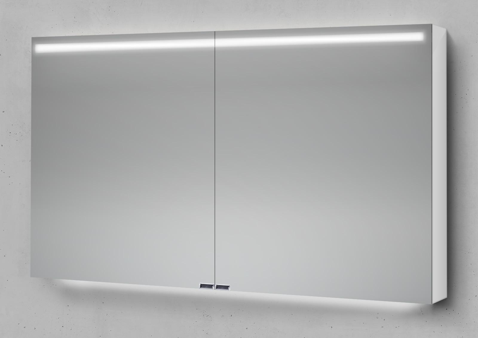 Badmöbel Set Cubo Grifflos 120 Cm Waschtisch Mit Unterschrank Und