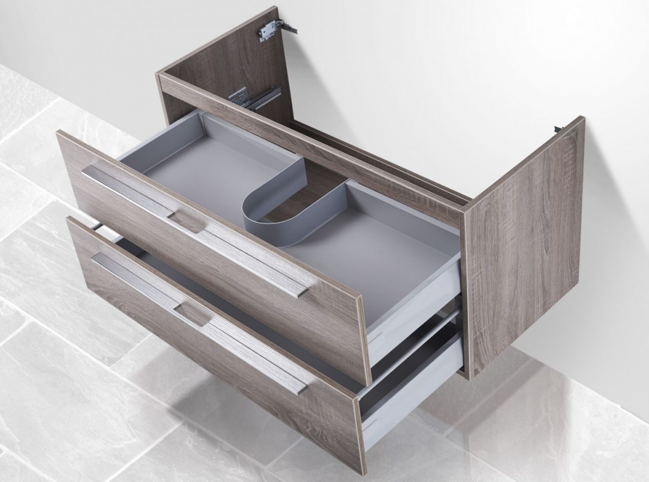 waschtisch unterschrank zu duravit vero 100 cm waschbeckenunterschrank wei ho ebay. Black Bedroom Furniture Sets. Home Design Ideas