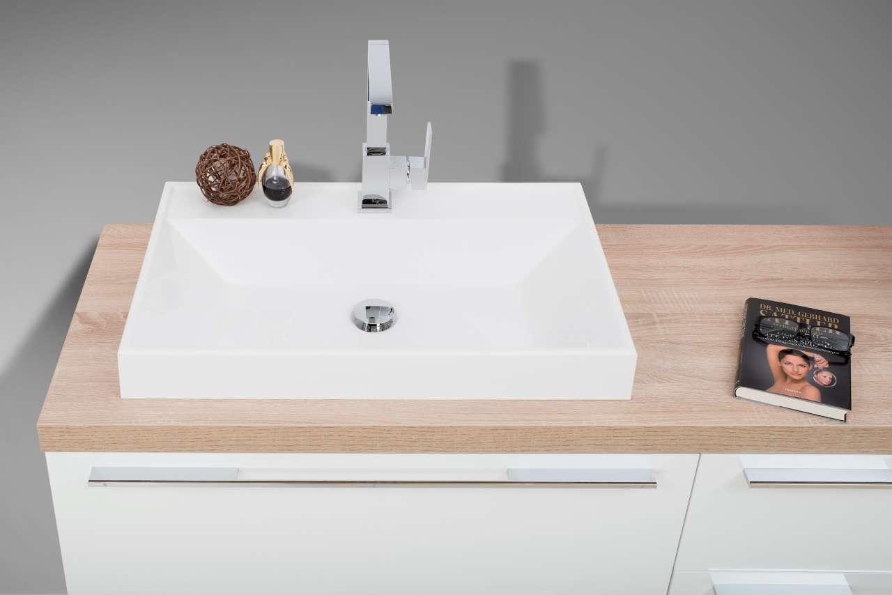 Badmobel Set Waschtischplatte Waschtischkonsole Nach Mass Mit