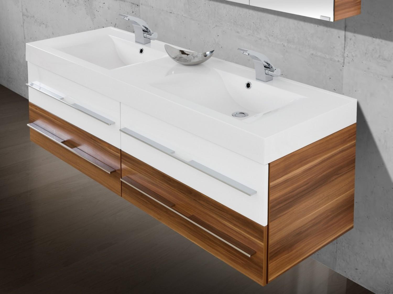 Badezimmermöbel doppelwaschbecken  Doppelwaschtisch ~ Home Design und Möbel Ideen
