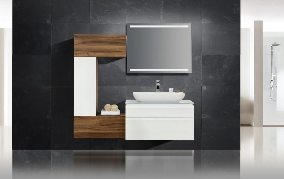 design badm bel collection modica lichtspiegel waschtisch. Black Bedroom Furniture Sets. Home Design Ideas