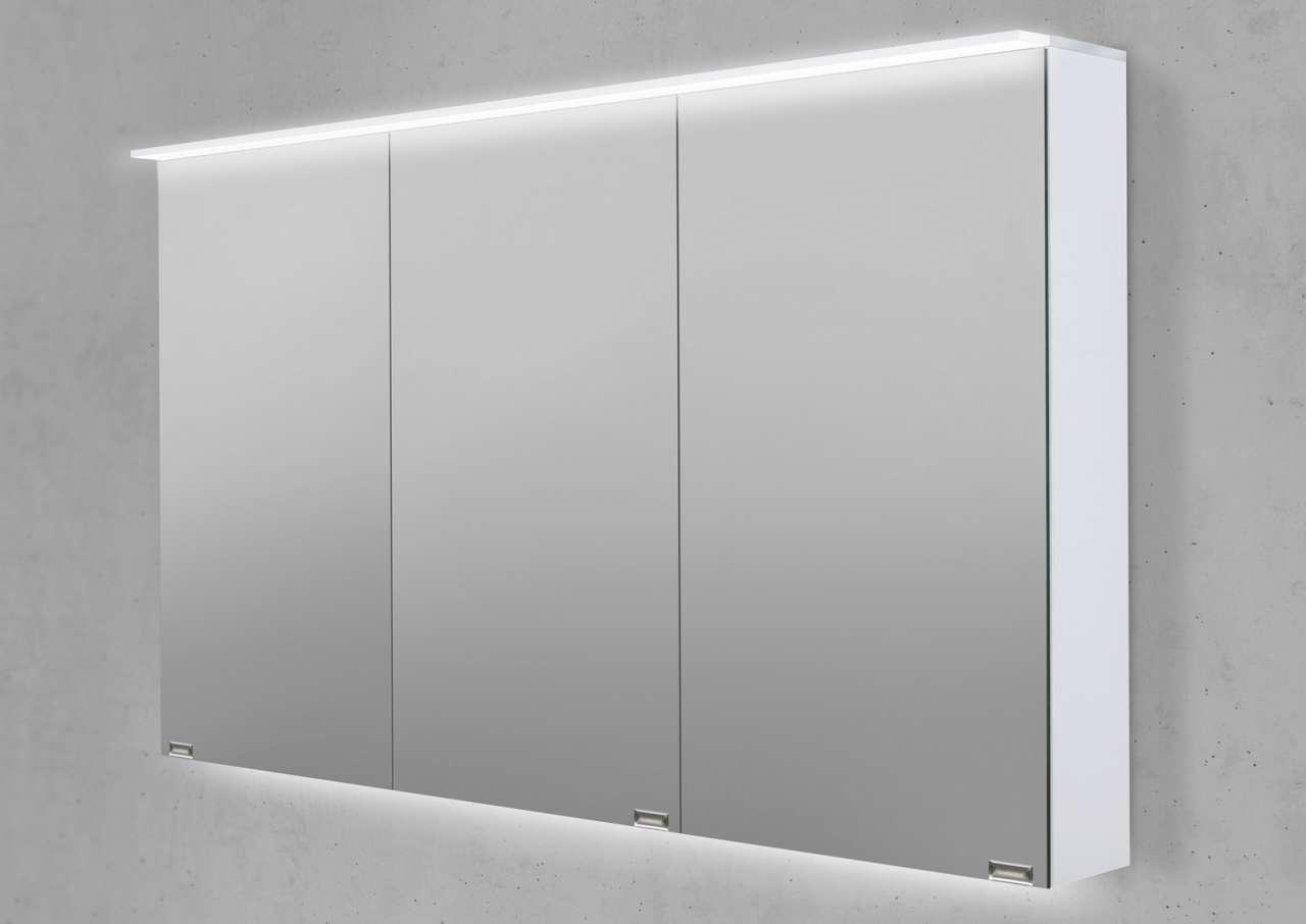 Spiegelschrank 120 cm led acryl lichtplatte doppelseitig for Spiegelschrank 50 cm hoch