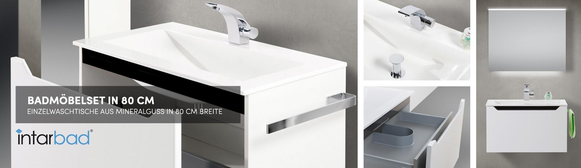80cm Einzelwaschtische Gunstig Kaufen Designbaeder Com