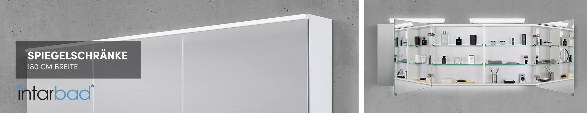 180 cm Spiegelschränke