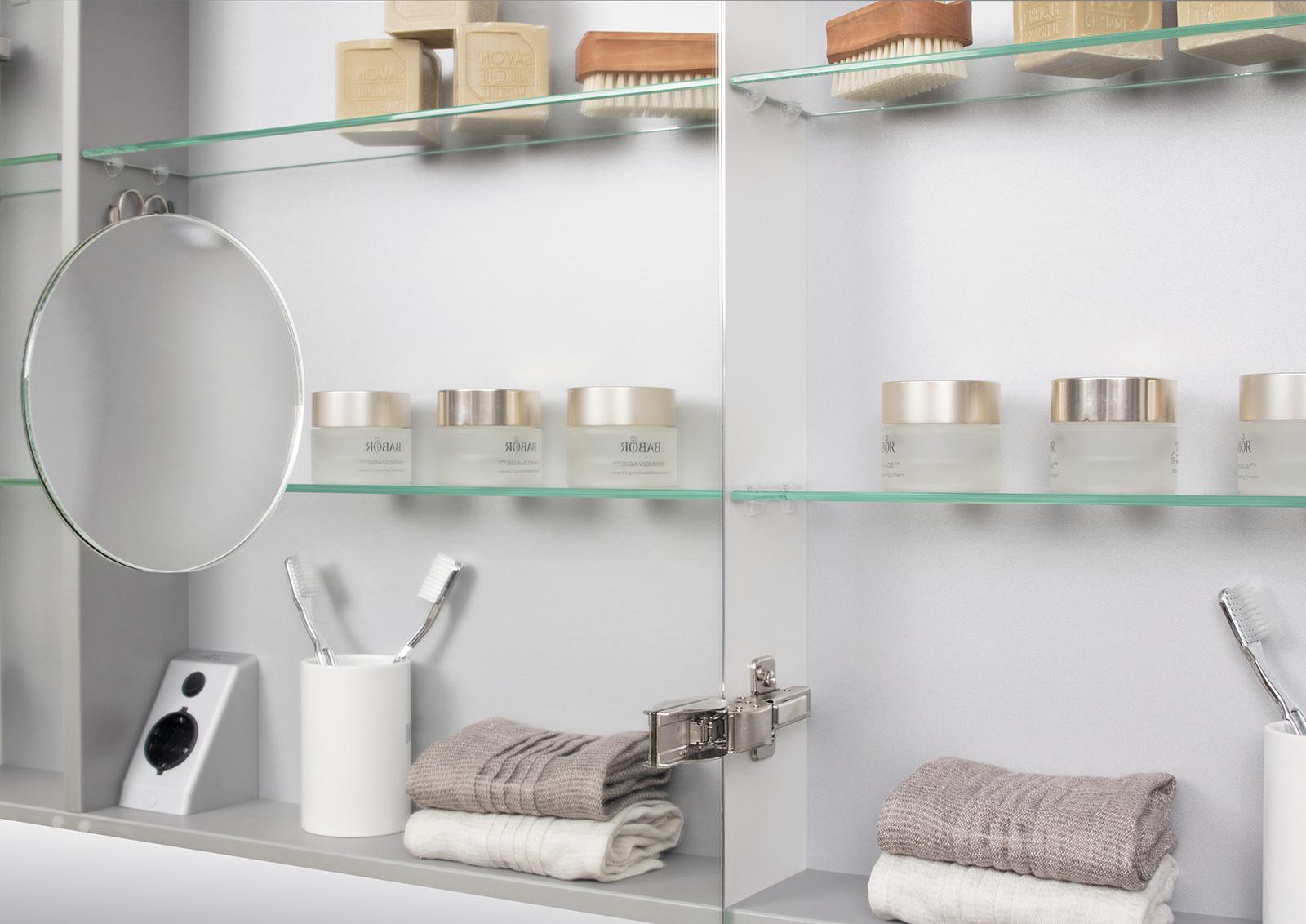 doppelwaschtisch 160 cm badm bel set mit unterschrank spiegelschrank. Black Bedroom Furniture Sets. Home Design Ideas