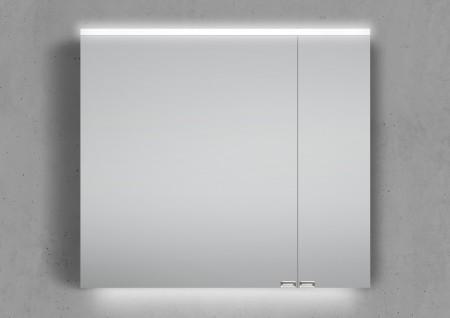 80 cm Spiegelschrank