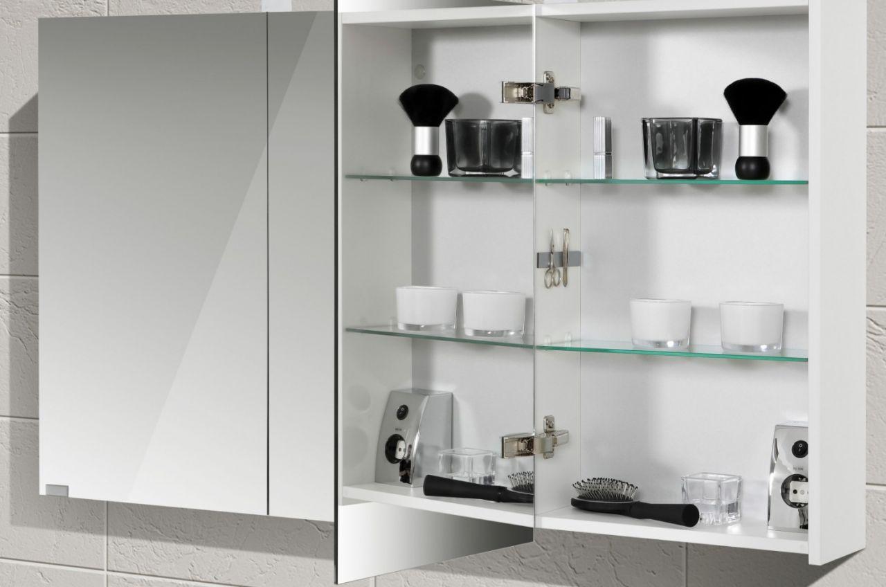Spiegelschrank doppelwaschtisch 120 cm design badm bel set for Ebay badmobel set