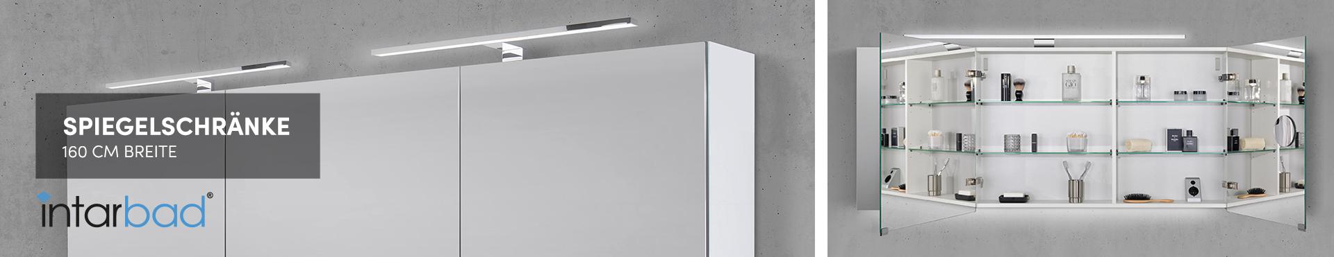 160 cm Spiegelschränke