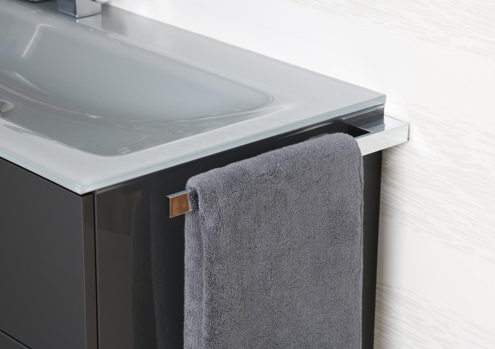 Handtuchhalter Bad Chrom Design Handtuchstange bad