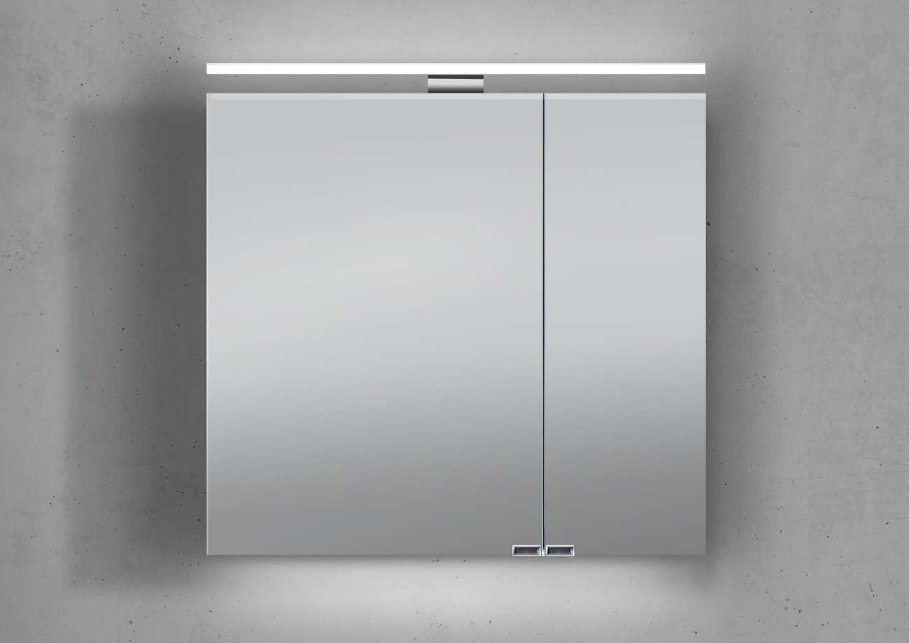 spiegelschrank 60 cm led beleuchtung doppelt verspiegelt ... - Led Beleuchtung Badezimmer