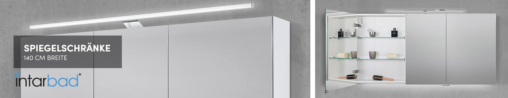 140 cm Spiegelschränke